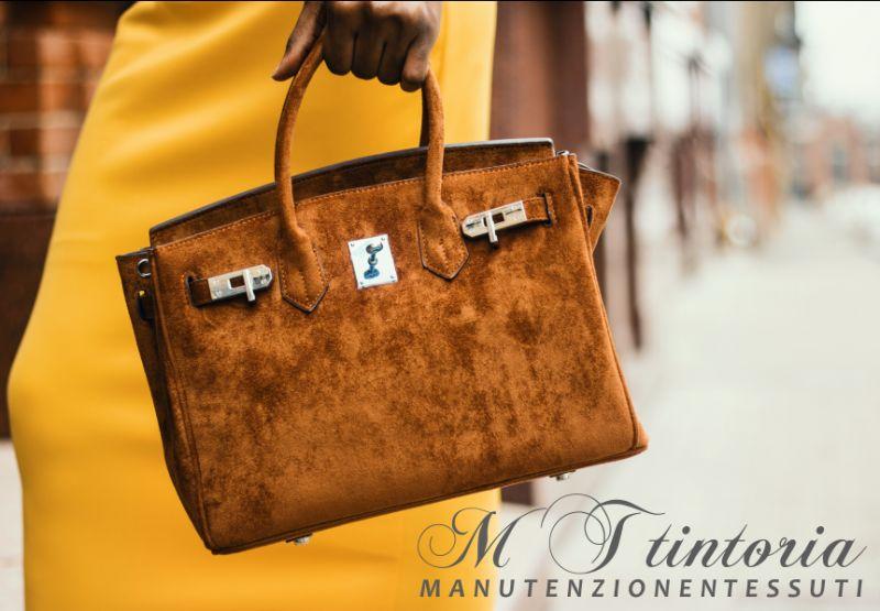 MT TINTORIA offerta sanificazione ecologica borse - promozione pulizia professionale borse