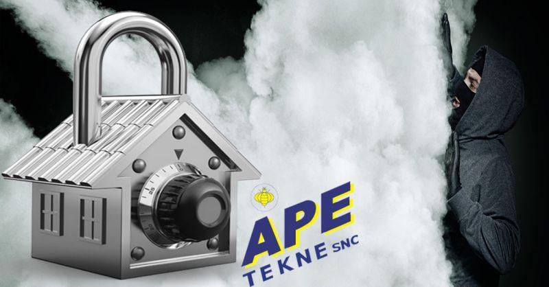 Ape Tekne offerta installazione impianti di videosorveglianza antintrusione Roma
