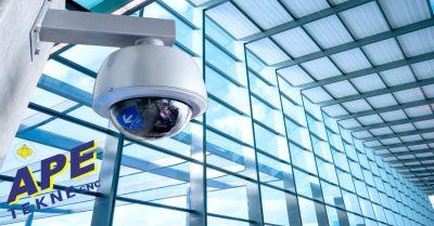 ape tekne offerta installazione telecamere di sicurezza videocontrollo da remoto roma