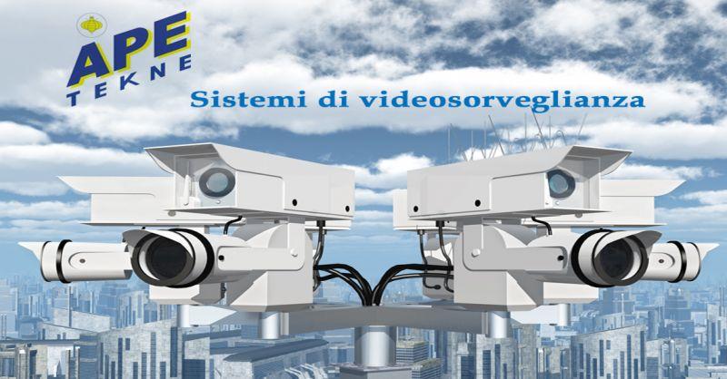 Ape Tekne offerta installazione sistemi di vigilanza impianti antifurto Roma