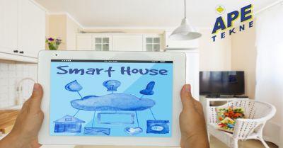ape tekne offerta impianti di controllo e gestione casa roma occasione sicurezza domestica