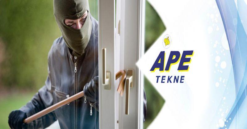 Ape Tekne offerta installazione impianti antifurto allarmi - occasione impianti di sicurezza