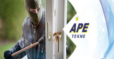 ape tekne offerta installazione impianti antifurto allarmi occasione impianti di sicurezza