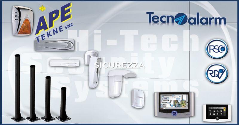 APE TEKNE SNC offerta installazione manutenzione impianti videosorveglianza abitativo Roma
