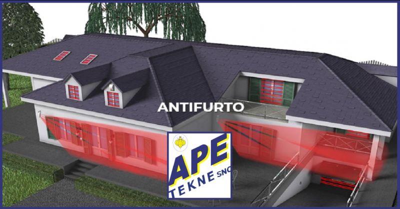 APE TEKNE SNC Occasione realizzazione impianti sistema antifurto per ville Roma e provincia