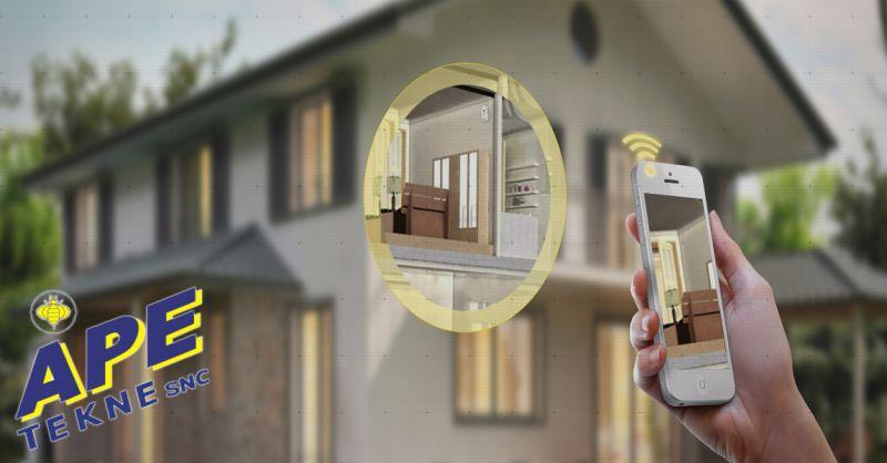 offerta antifurto casa high tech Roma Ape Tekne - occasione sistema d'allarme wireless Roma