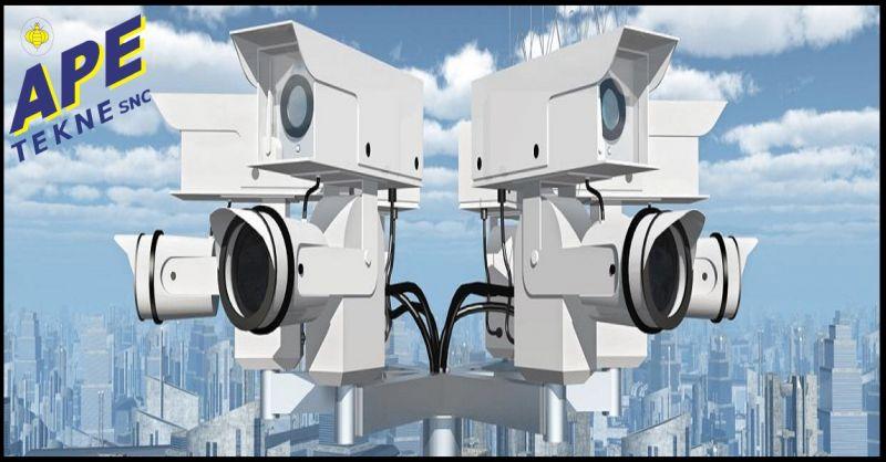 APE TEKNE Offerta servizio specializzato installatori Tecnoalarm high tecnology Roma Ostia