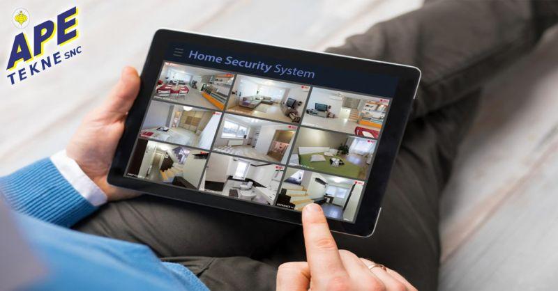 offerta installazione antifurto casa GSM Roma - occasione sistemi videosorveglianza wireless