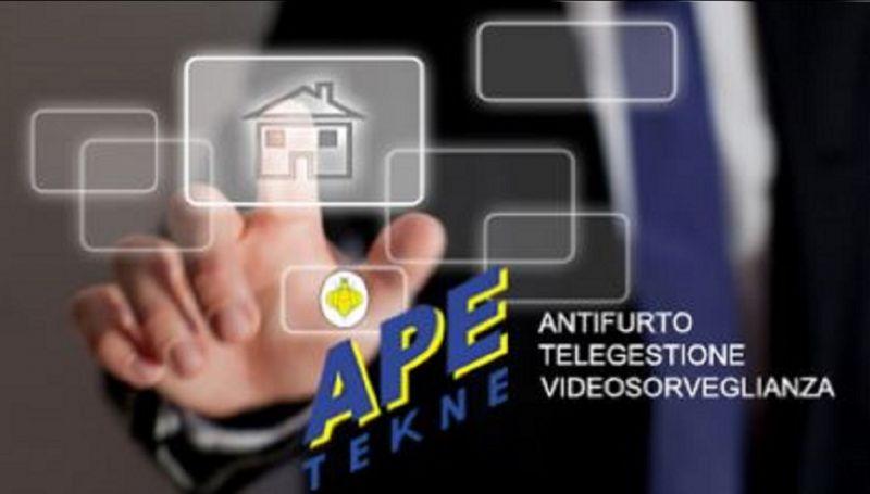 Ape Tekne offerta installazione allarmi ostia - Occasione vendita antifurti casal palocco