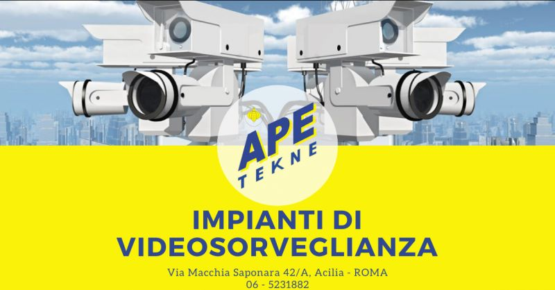 Offerta installazione impianti di videosorveglianza roma - occasione sistemi tvcc roma