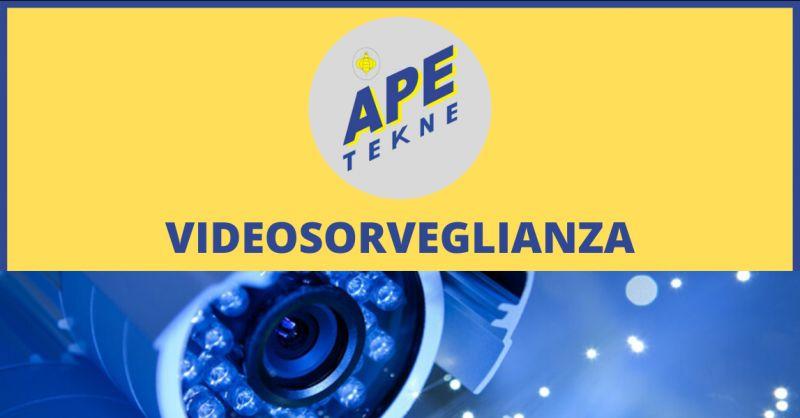 APE TEKNE Offerta negozi videosorveglianza roma - occasione videosorveglianza roma vendita