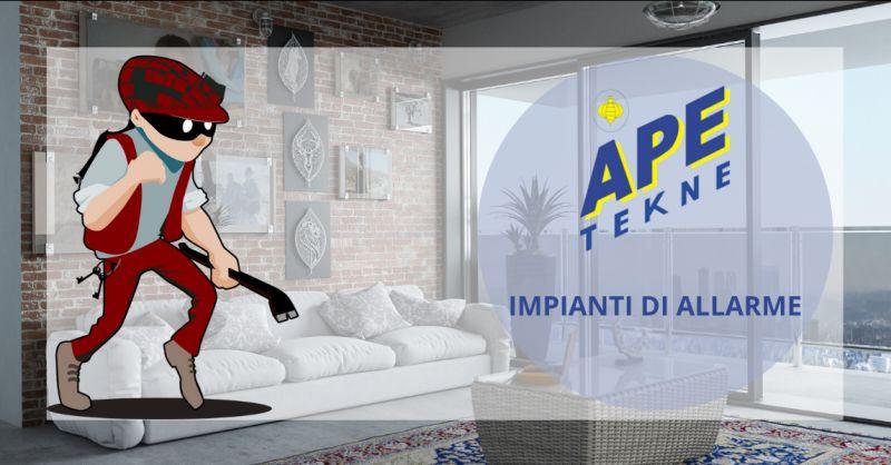 Offerta installazione impianti di allarme antifurto roma - occasione sistemi di sicurezza roma