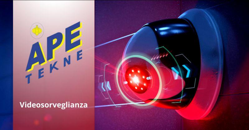 APE TEKNE - Offerta ditta progettazione sistemi di videosorveglianza roma