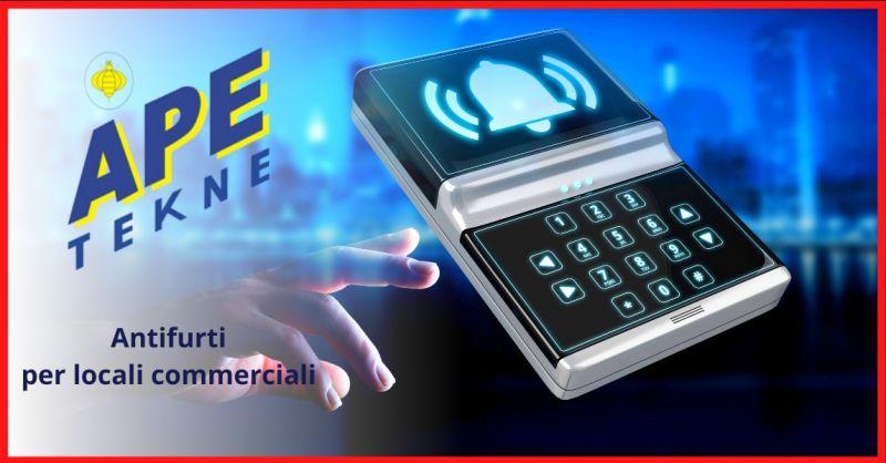 APE TEKNE - Offerta antifurto negozio wireless roma