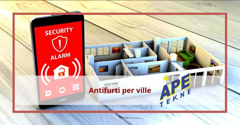 APE TEKNE - Offerta antifurto per ville roma