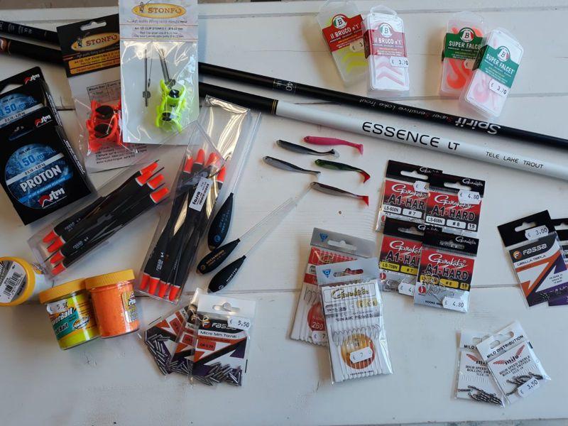 Offerta occorrente pesca spinning occasione prodotti pesca sportiva milo bottega del pescatore