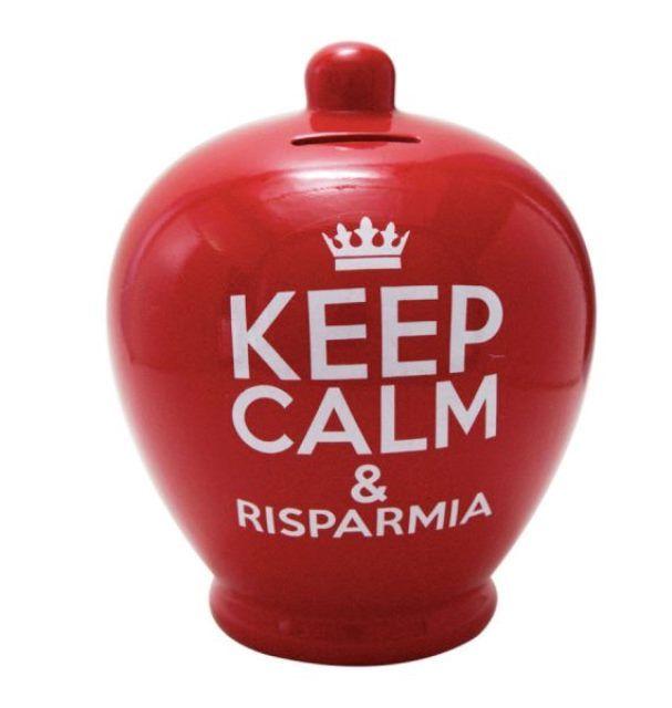 Idea regalo Natale Trepuzzi salvadanaio ceramica personalizzabile
