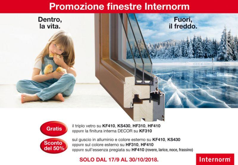offerta finestre triplo vetro internom - promozione finestra guscio alluminio legno