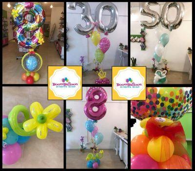 boomballoon offerta servizio addobbi per feste con palloncini osimo organizzazione eventi