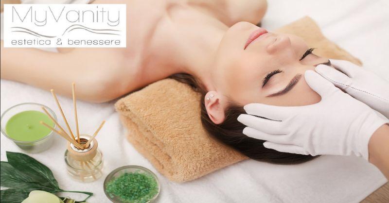 MY VANITY offerta massaggi estetici viso e corpo - occasione trattamenti anticellulite a Verona