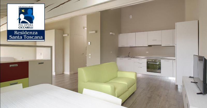 RESIDENZA SANTA TOSCANA offerta appartamenti per anziani con servizio assistenza personalizzato