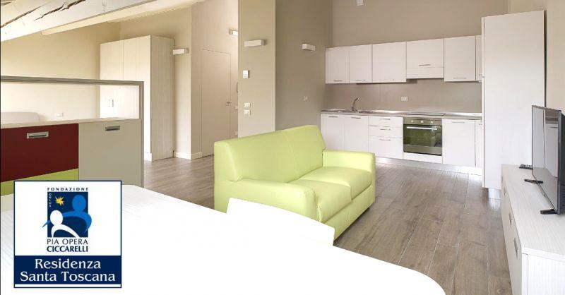 RESIDENZA SANTA TOSCANA offerta appartamenti protetti per anziani autosufficienti Verona