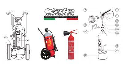 cate antincendio offerta vendita materiale antincendio pompieristico promozione estintori