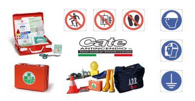cate antincendio offerta vendita materiale antinfortunistico promozione segnaletica sicurezza