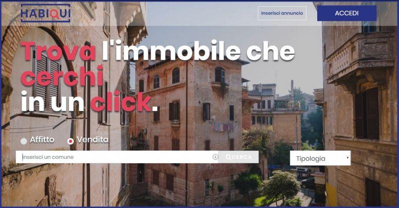 HABIQUI - Occasione ricerca immobili case vendita affitto - Nuovo portale immobiliare italiano