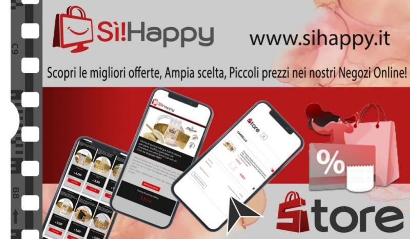 Sì!Happy Store - Trova la migliore offerta piattaforma e Commerce Italia senza fee tutto compreso