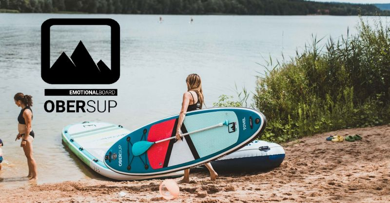 OBERsup - standuppaddle - yoga - balance -sup gonfiabile - relax - starboard