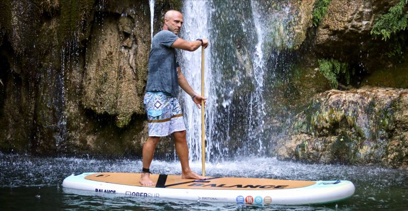 OBERsup lo stand up paddle per lo yoga