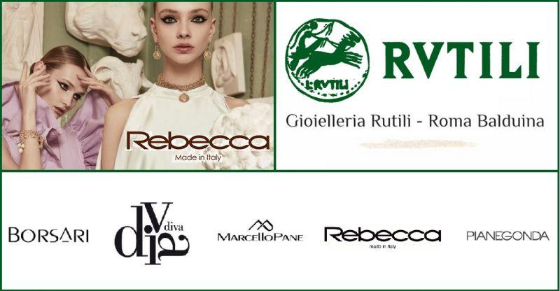 GIOIELLERIA RUTILI offerta sconti gioelli in argento e bronzo collezione Rebecca a Roma
