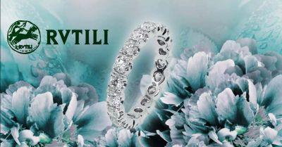 offerta fedina oro bianco con brillanti roma occasione fede in oro e diamanti roma balduina