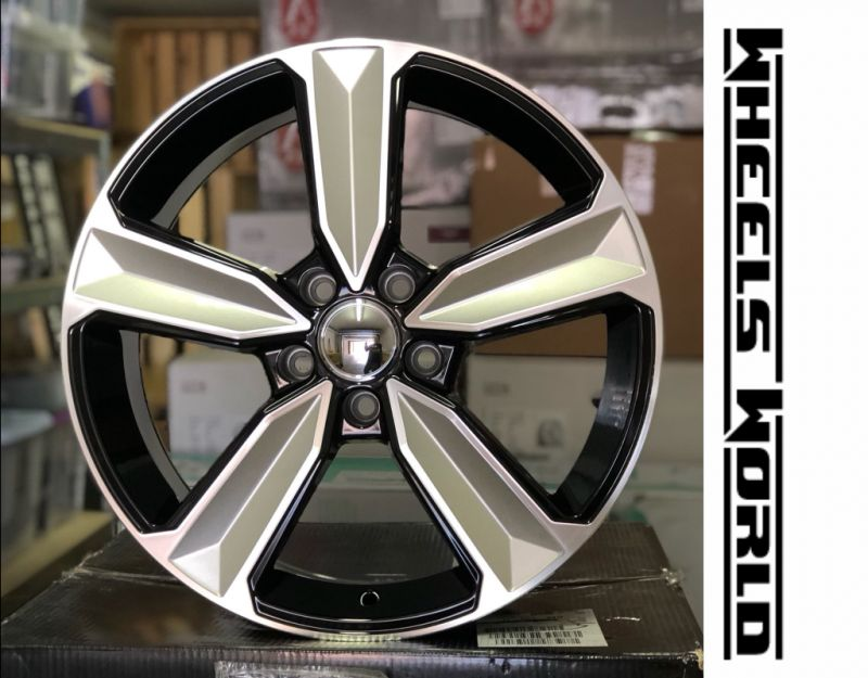 offerta cerchi in lega dedica audi rs5 -promozione vendita cerchi audi rs5 black silver machine