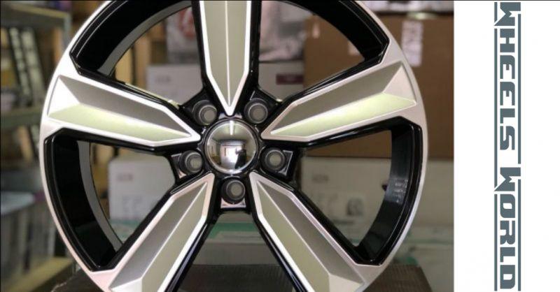 offerta cerchi in lega dedica audi rs5 - promozione vendita cerchi audi rs5 black silver machine