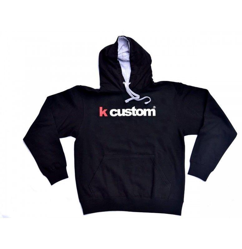 offerta felpa k-custom nera con cappuccio-prezzo promozione felpa k-custom nera
