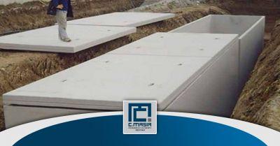 offerta realizzazione cisterne e serbatoi in cemento occasione vasche raccolta prima pioggia