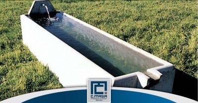 offerta produzione abbeveratoi in cemento cagliari occasione vasche per zootecnica oristano