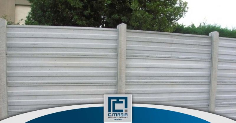 Offerta Recinzioni a pettine Oristano - Occasione Recinzioni prefabbricate in cemento Cagliari