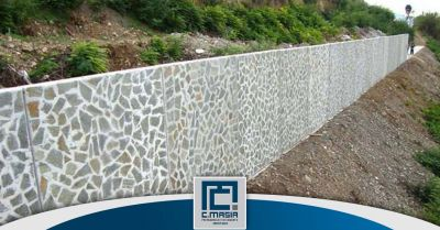 offerta muri di contenimento in pietra oristano occasione lastre in calcestruzzo contenimento