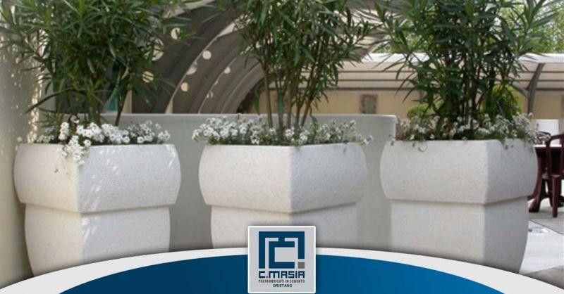 Offerta vendita  Fioriere in cemento Cagliari - Occasione Fioriere per arredo urbano Oristano