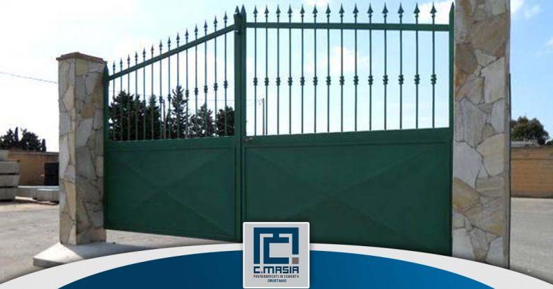 Offerta Ingressi prefabbricati con cancello Cagliari - Occasione cancelli d'ingresso Oristano