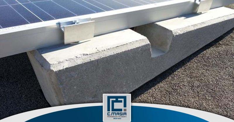 Offerta produzione zavorre e basi in cemento Oristano - Occasione basi e strutture in cemento
