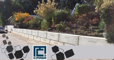 offerta realizzazione muri per contenimento protezione oristano occasione muri di rinforzo scarpate cagliari