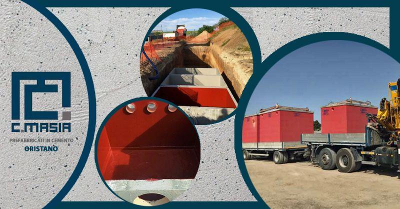 Offerta Depuratori liquami di origine domestica - Occasione Depuratori vasche monoblocco prefabbricate in calcestruzzo armato