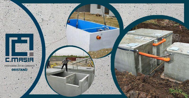Offerta impianti di prima pioggia di trattamento delle acque - Occasione Vasche raccolta prima pioggia