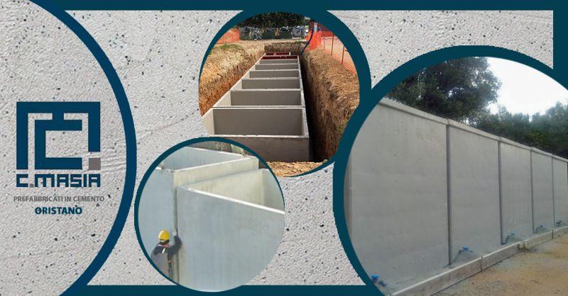 Offerta Serbatoi in cemento armato vibrato - Occasione Realizzazione Cisterne e serbatoi