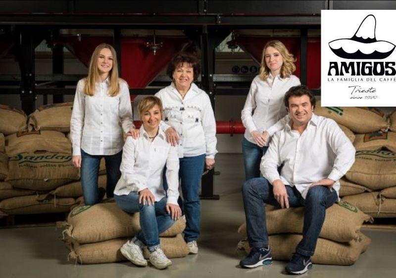 Amigos Caffè offerta produzione vendita  caffè italiano per grossisti e rivenditori