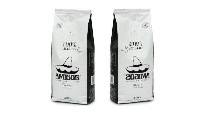 Amigos Caffè offerta produzione vendita caffè italiano 100% arabica in grani